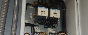 Planta Eléctrica Emergencia Condominios Tablero de transferencia esclavo