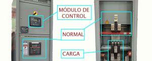 Tablero de Control y Transferencia Interruptores ELECTROmagnéticos
